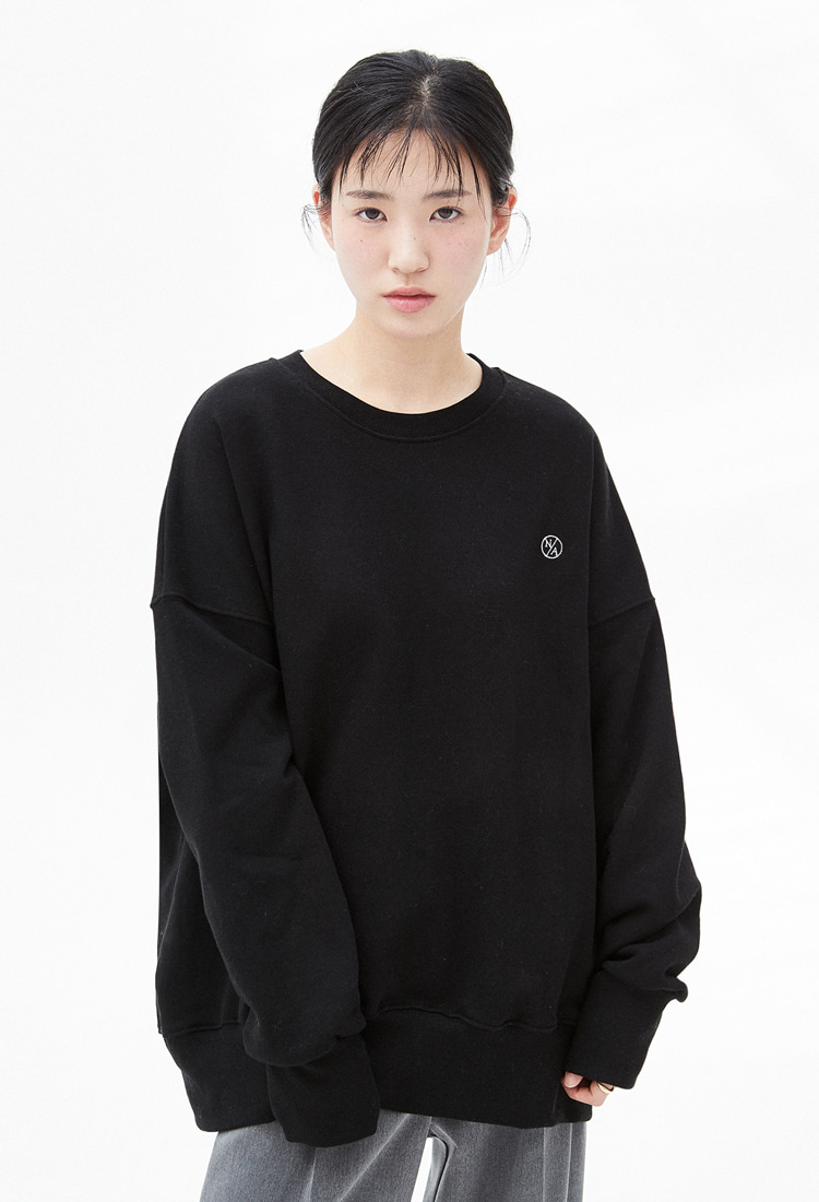 NOI328 essential logo sweatshirts (black)