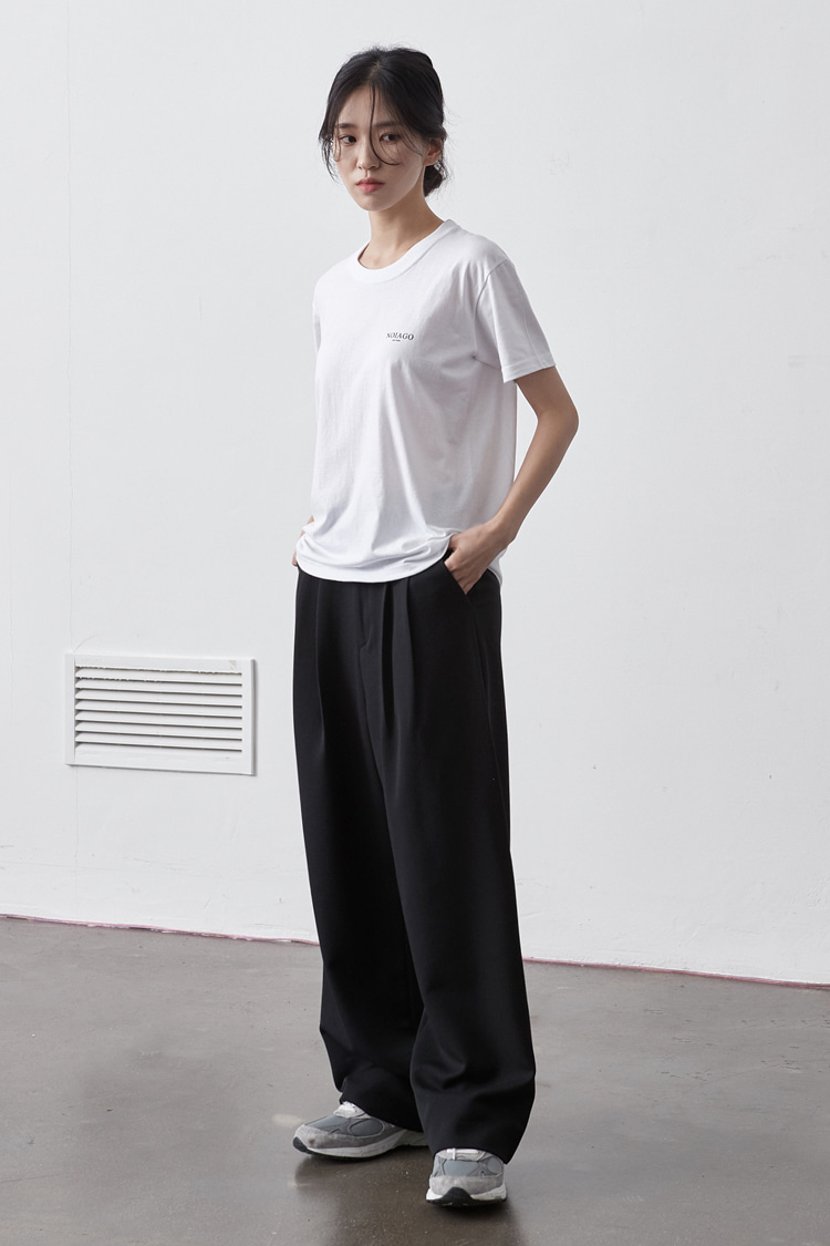 NOI142 minimal wide slacks (black)